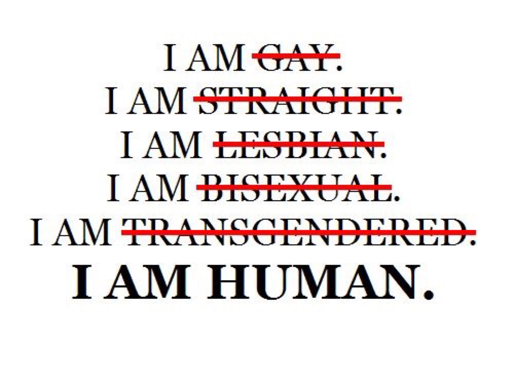 Are all humans gay