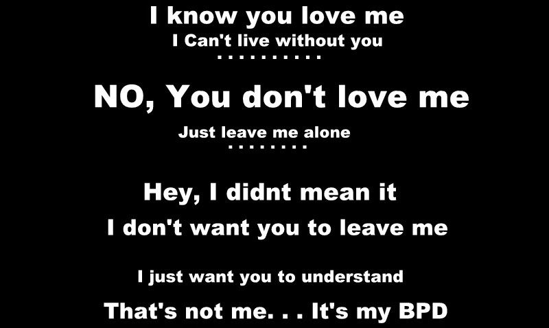 Quotes about Borderline personality disorder (22 quotes)
