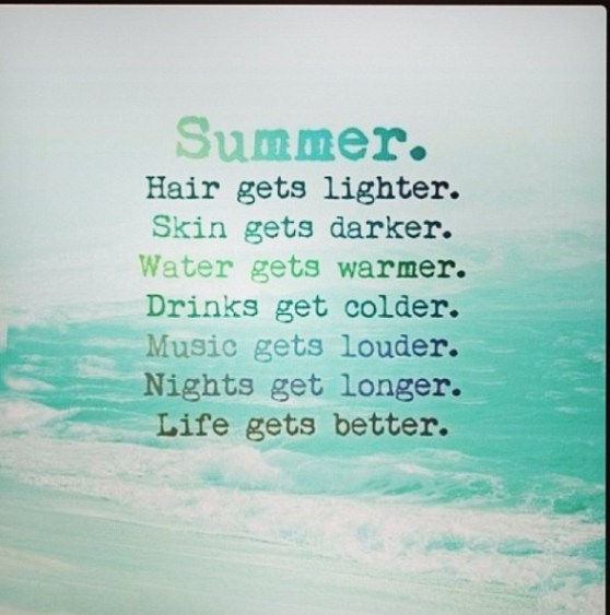 Quotes about Warm summer days (20 quotes)