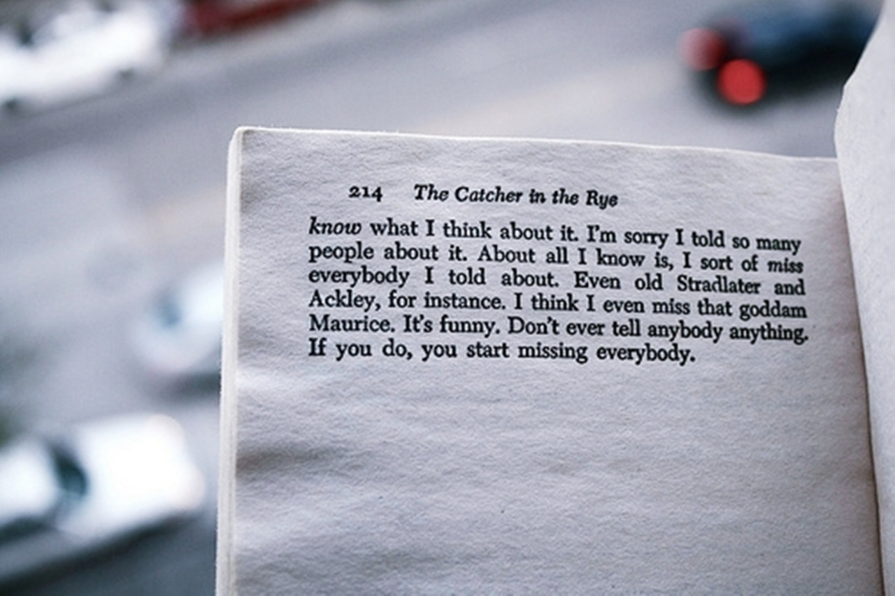 Quotes About Catcher In The Rye 53