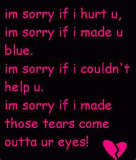 Quotes about Sorry (552 quotes)