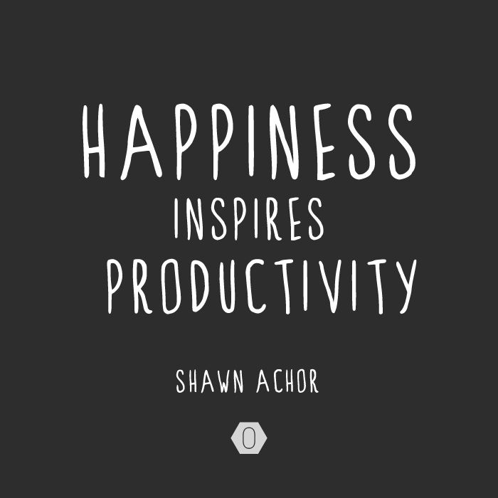 creating a happy and productive work Studies have shown that employees with high job satisfaction are generally more productive work environment happy employees make keep employees happy.