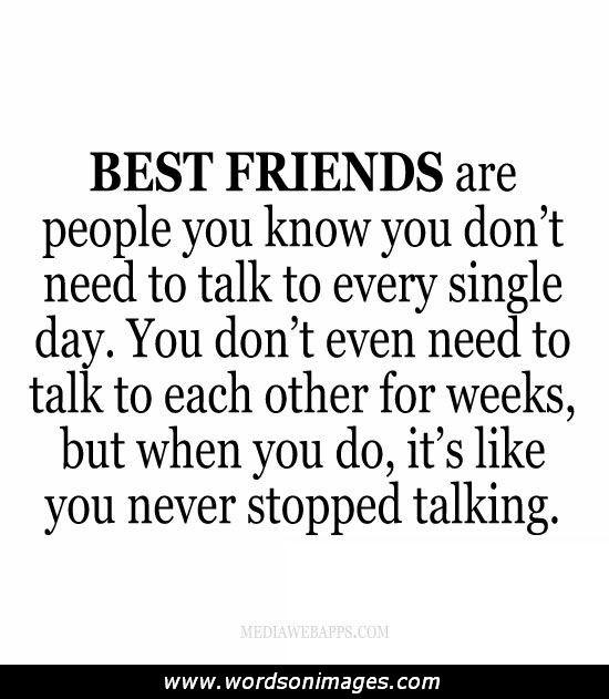 essay talk about best friend