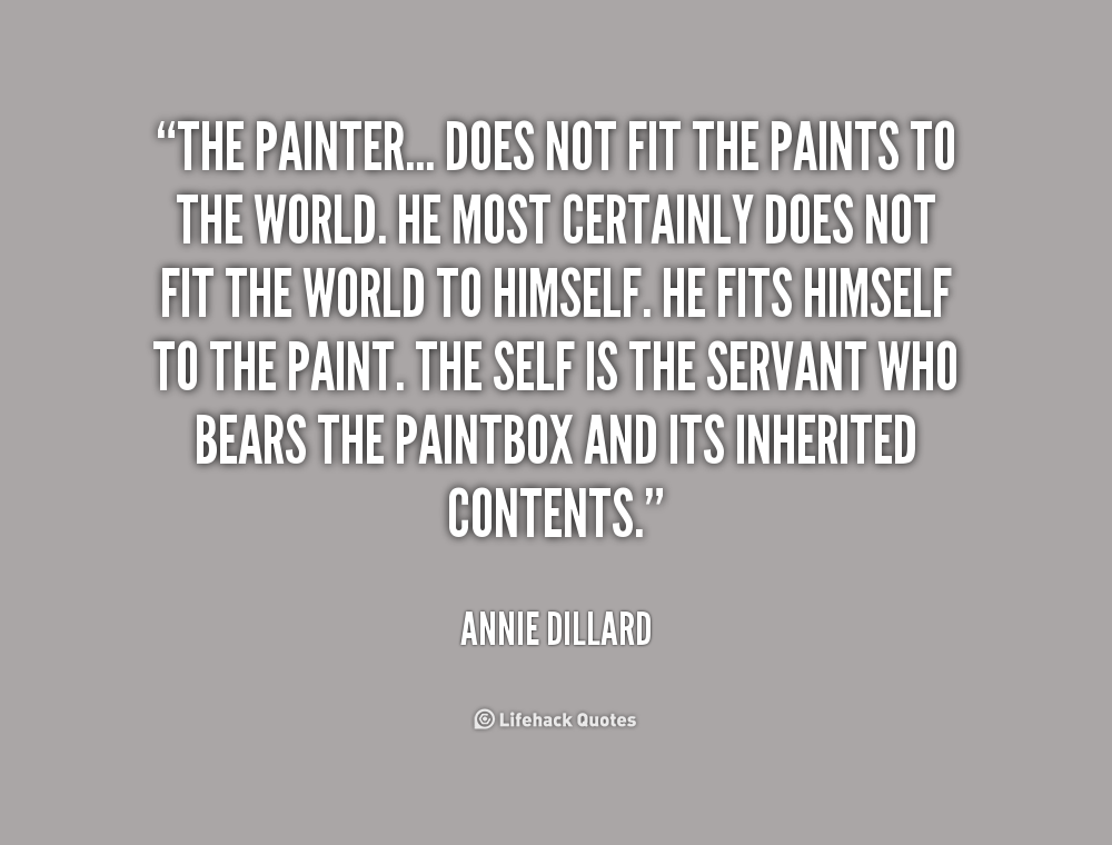 Quotes About Painting New Quotes About Painting The World 66 Quotes