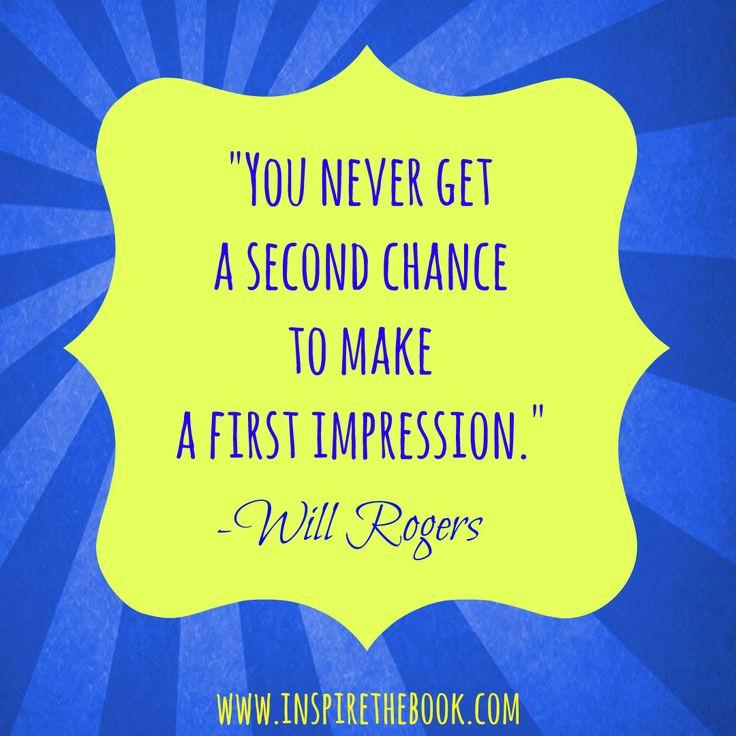 how do you make a good first impression essay