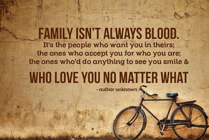 Quotes about Family not being family (45 quotes)