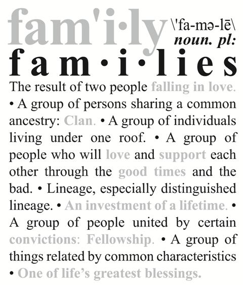 Meaning Of Family Quotes: Quotes About Definition Of Family (34 Quotes