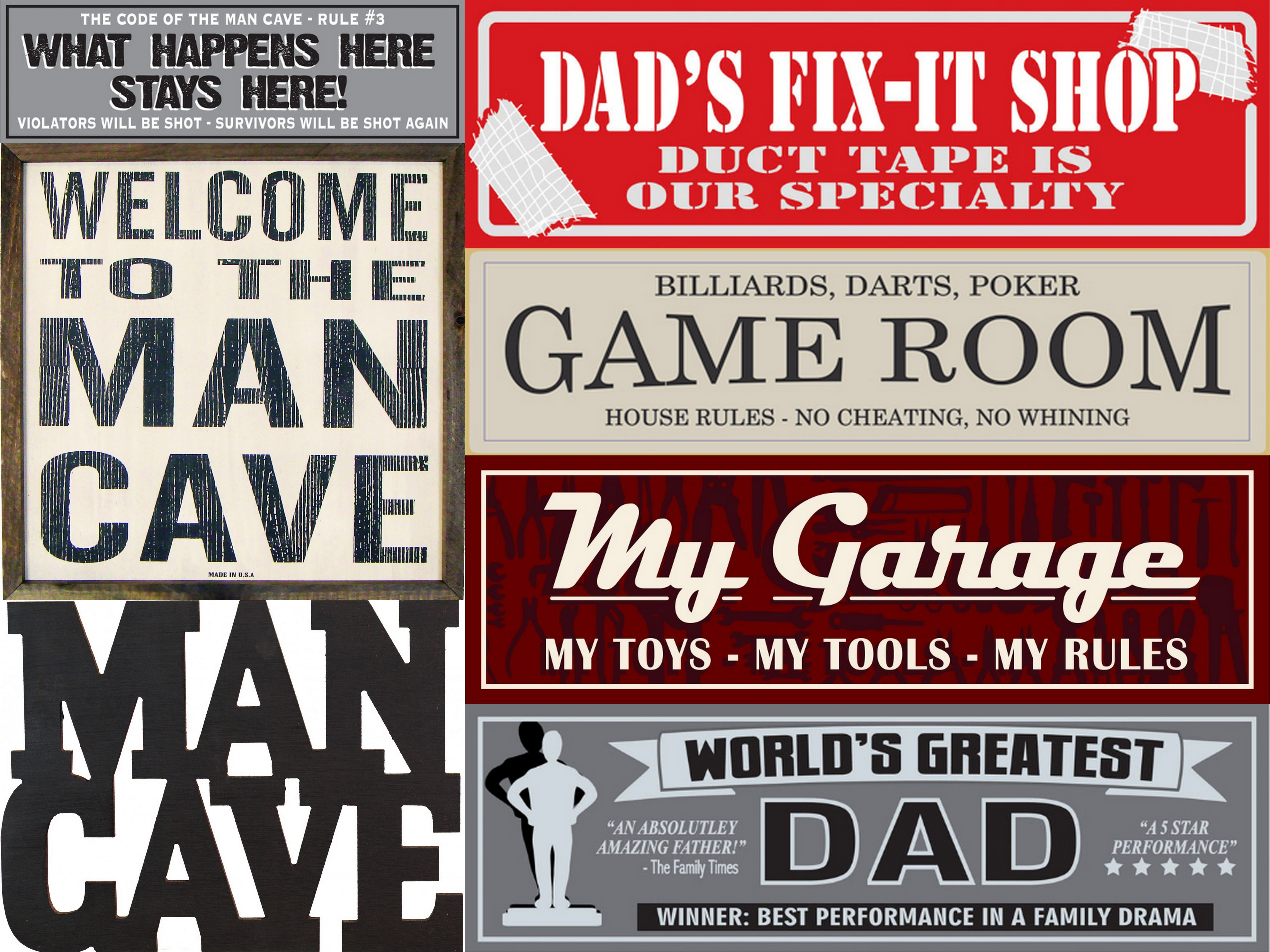 Man Cave Rules Signs : Lrt metal decor more signs indoor outdoor ncaa chevy man cave home