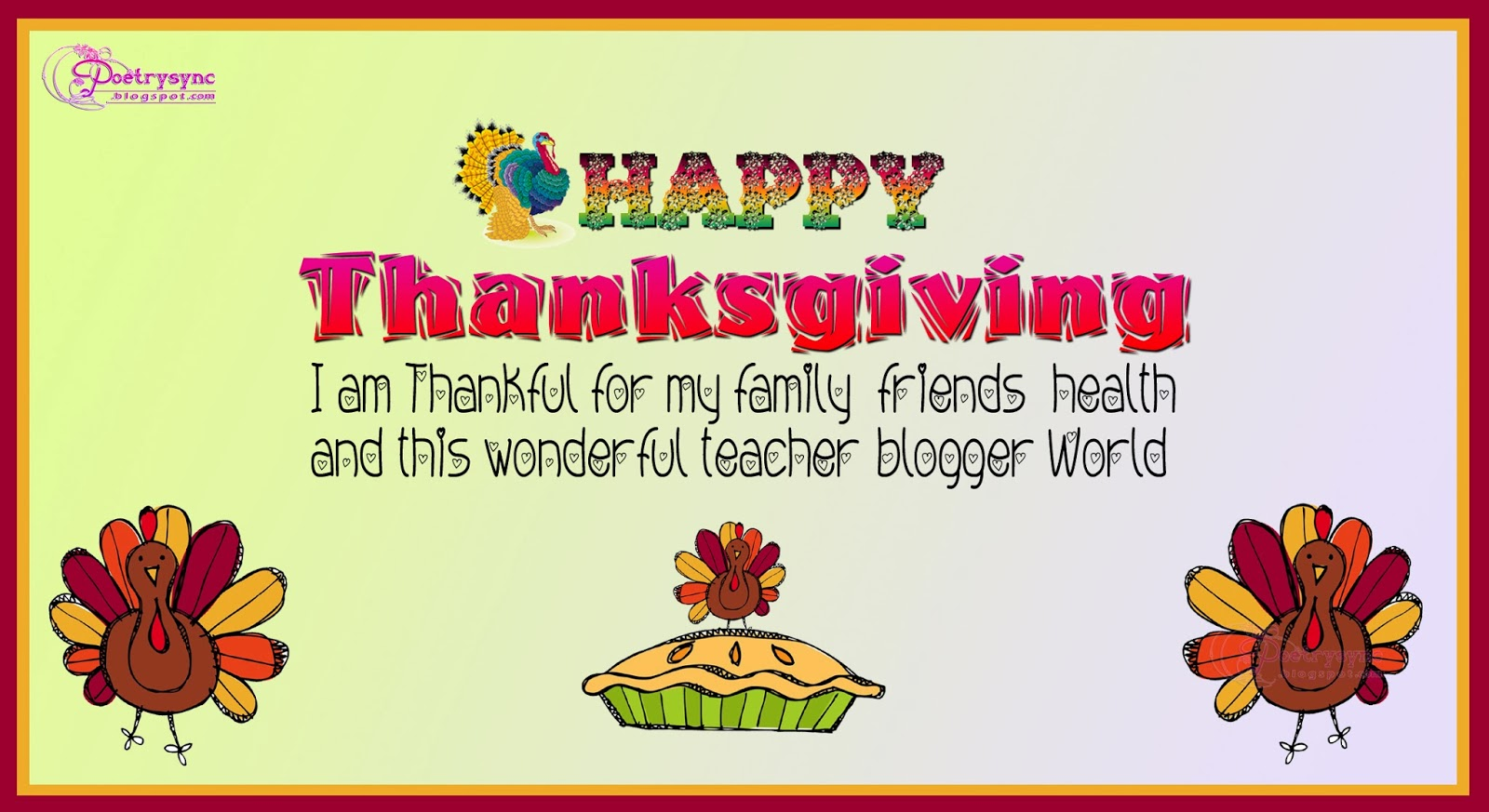 Quotes about thanksgiving and friends 23 quotes kristyandbryce Gallery