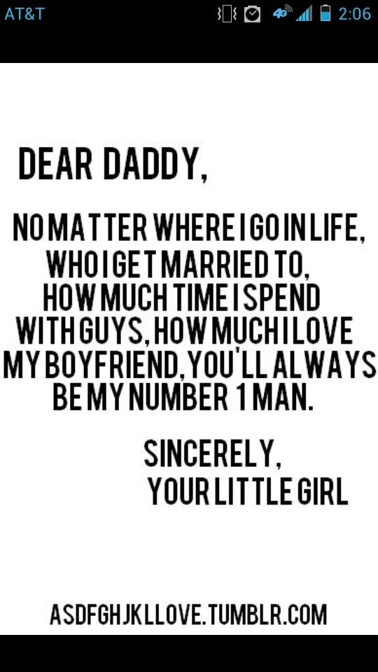 Quotes About Dads Girlfriend 28 Quotes