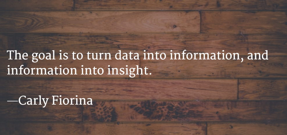 Quotes about Importance of data (27 quotes)