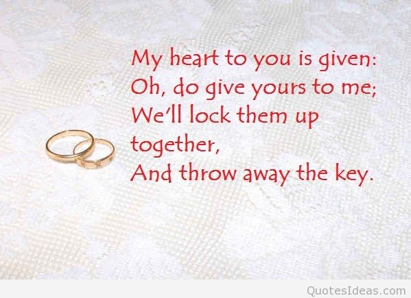 Quotes About Marriage For Weddings