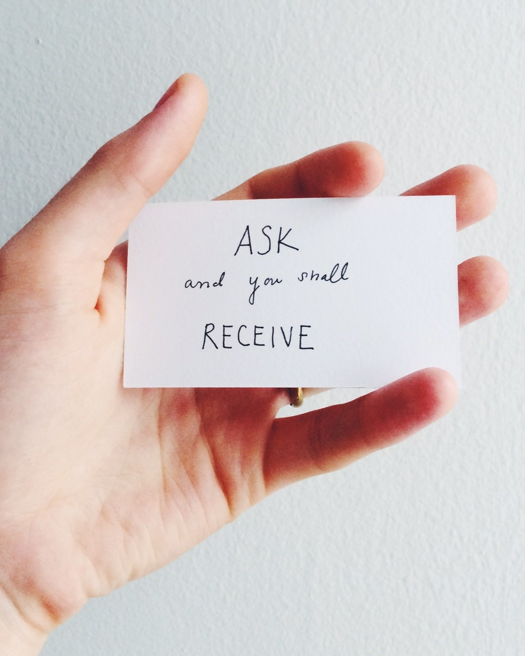 Quotes about Ask and receive (58 quotes)