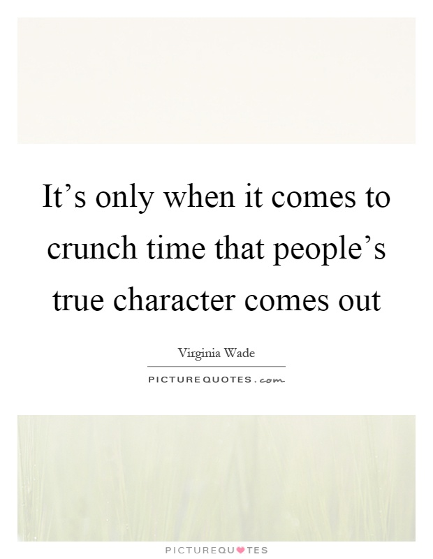 Time character quotes