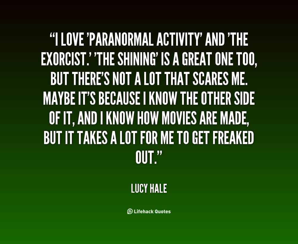 Paranormal phenomena: a selection of quotes
