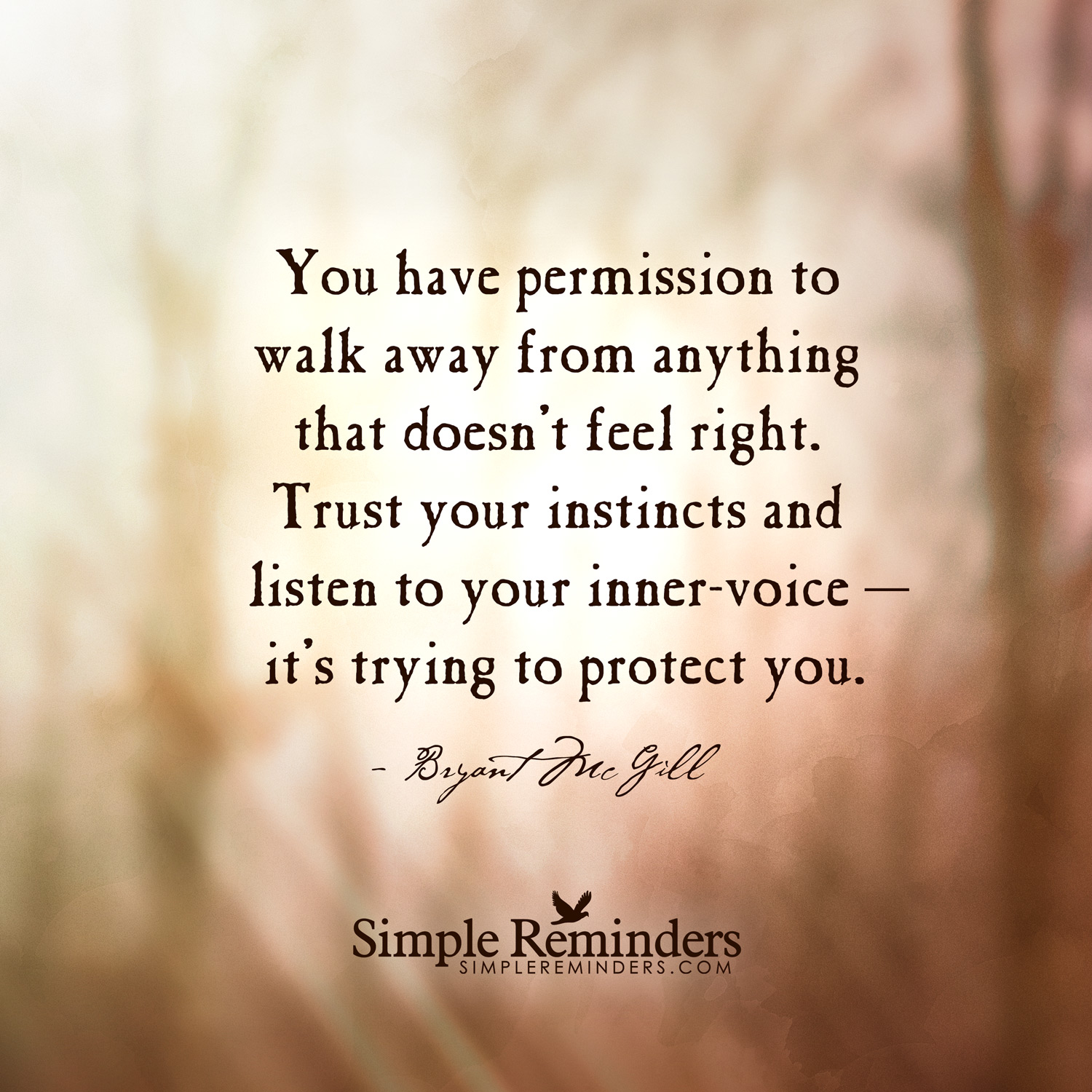 Quotes About Trust Your Instincts 86 Quotes