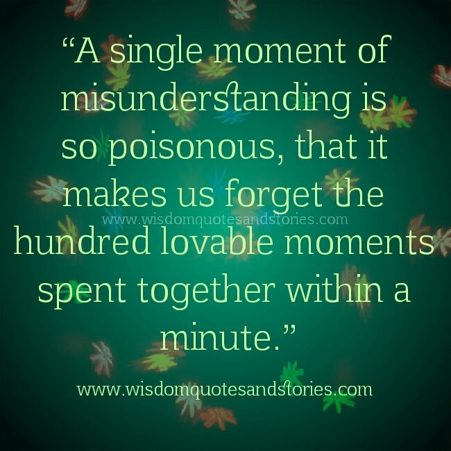 quotes about love misunderstanding quotes