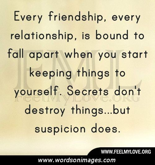 Quotes about Ruined friendship (23 quotes)