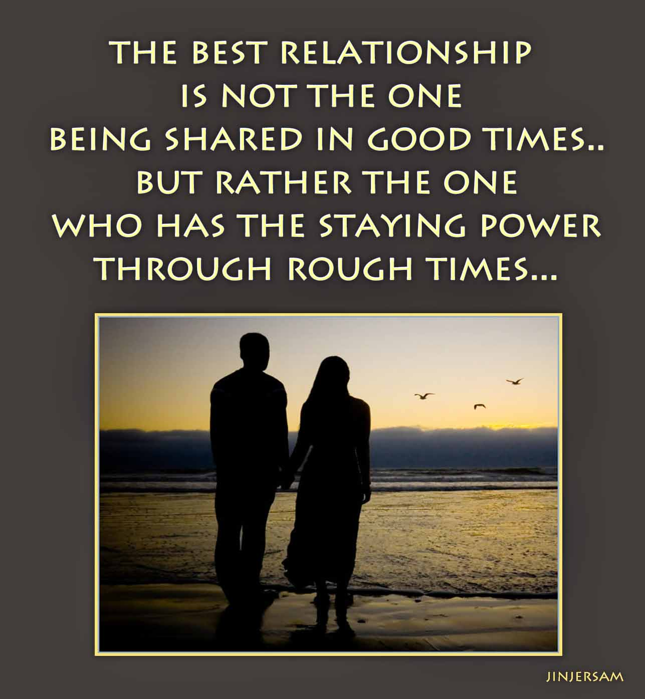 What is a good relationship