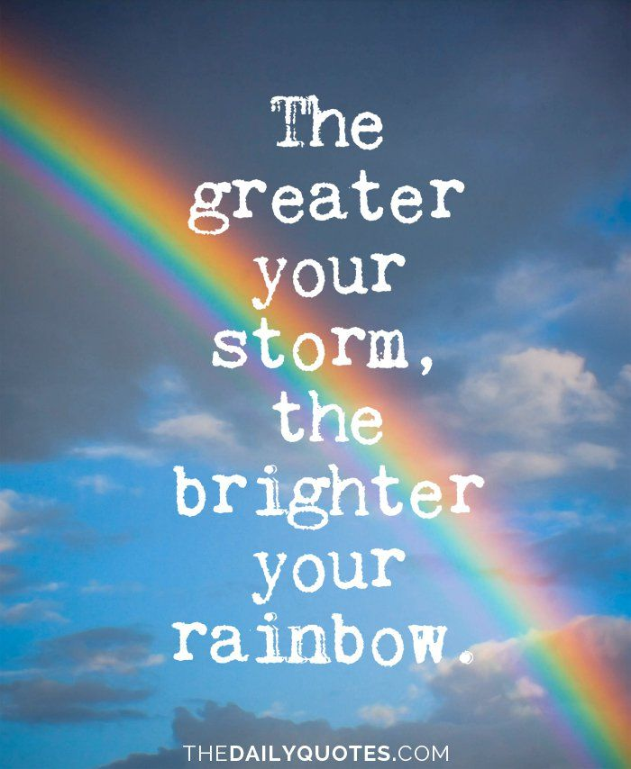 quotes about rainbow path quotes