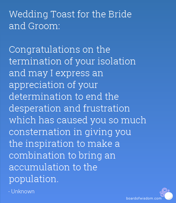 Quotes about wedding toast 23 quotes httphippoquoteswedding toast quotes for bride and groom junglespirit Choice Image