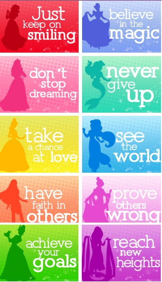 Quotes about Disney princess movies (22 quotes)