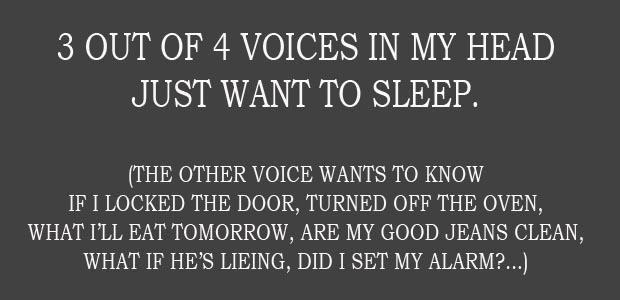 Quotes About Voices In Head 59 Quotes