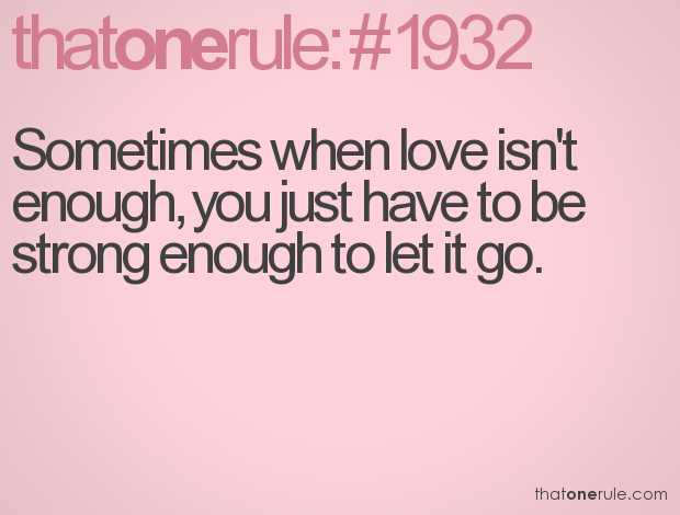 Quotes about Love isn\'t enough (38 quotes)