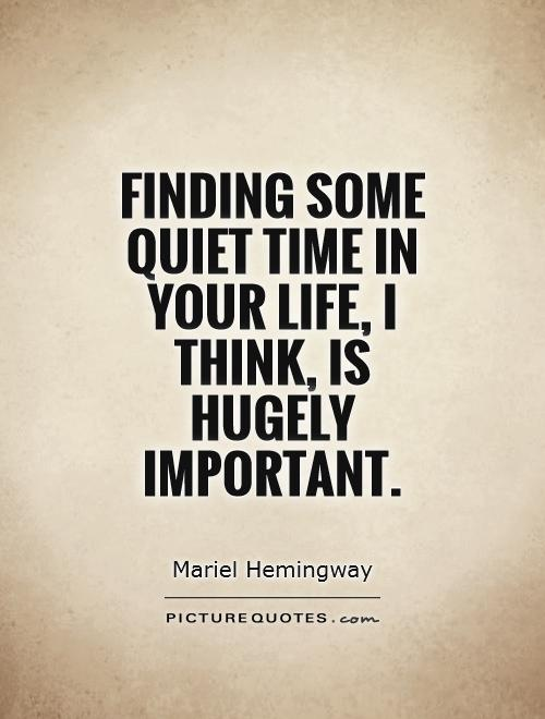 Peace And Quiet Quotes | Quotes About Peace And Quiet 109 Quotes