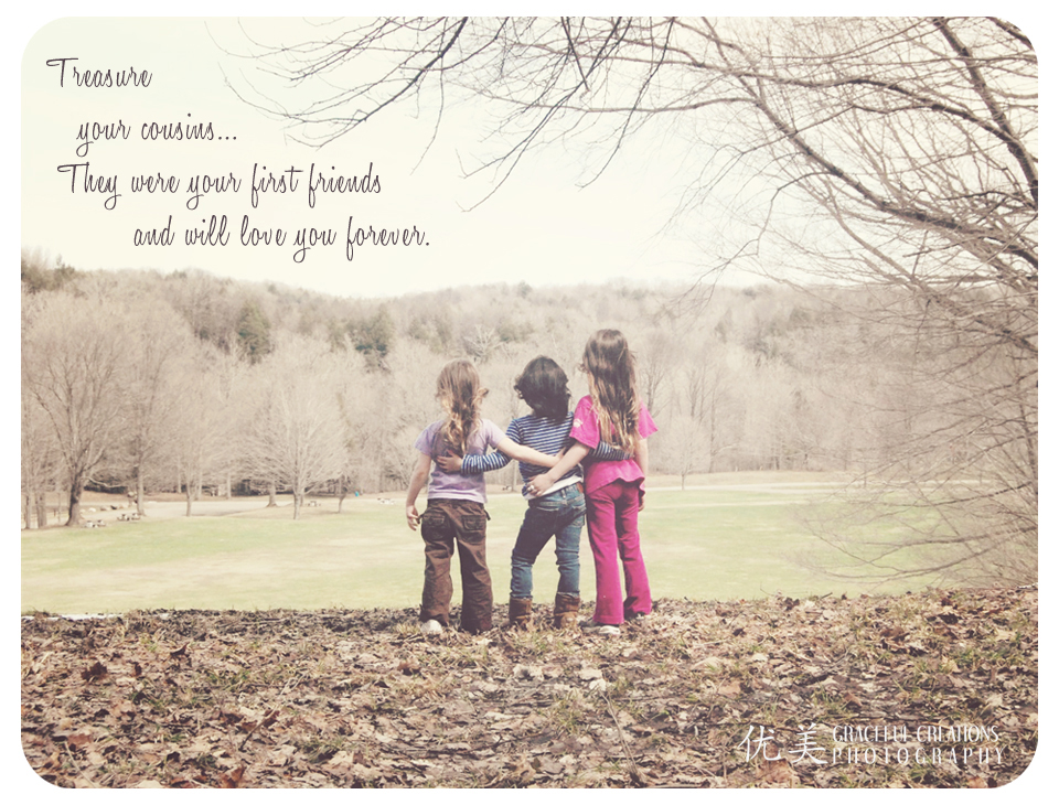 Quotes about Little cousins growing up (15 quotes)