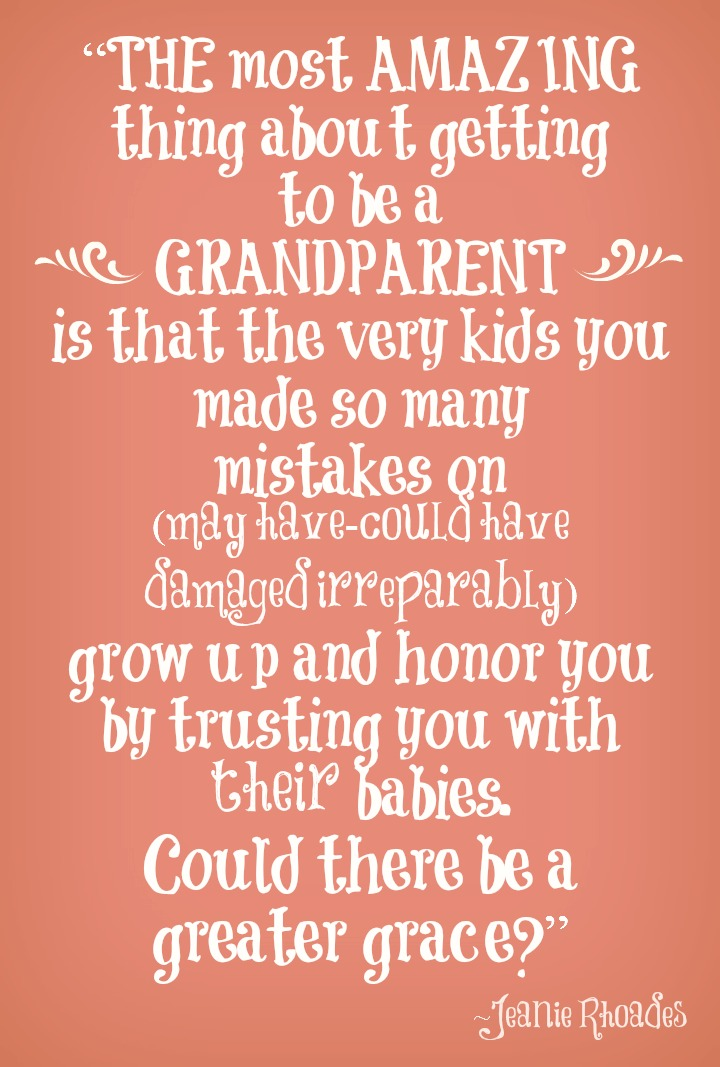 Quotes about Amazing grandmas (24 quotes)