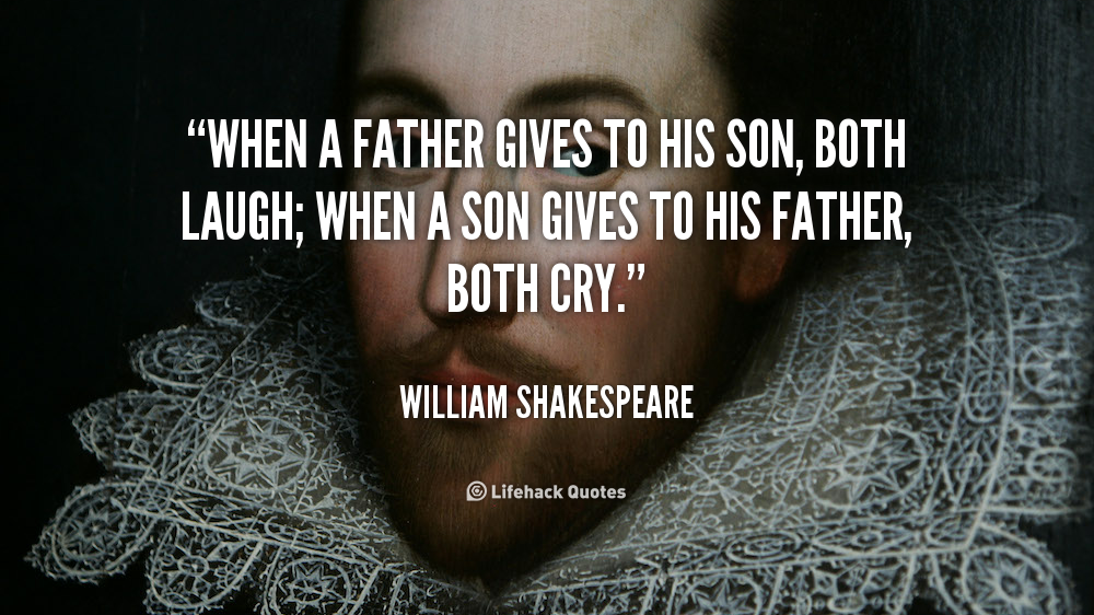 Quotes about Father son relation (19 quotes)