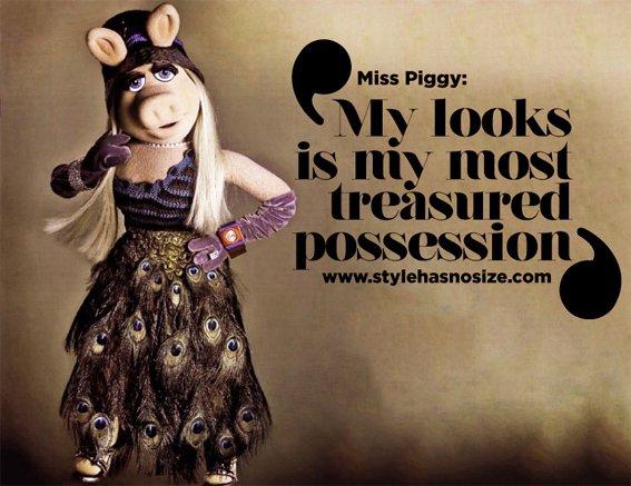 Kermit sprüche piggy miss Miss Piggy's