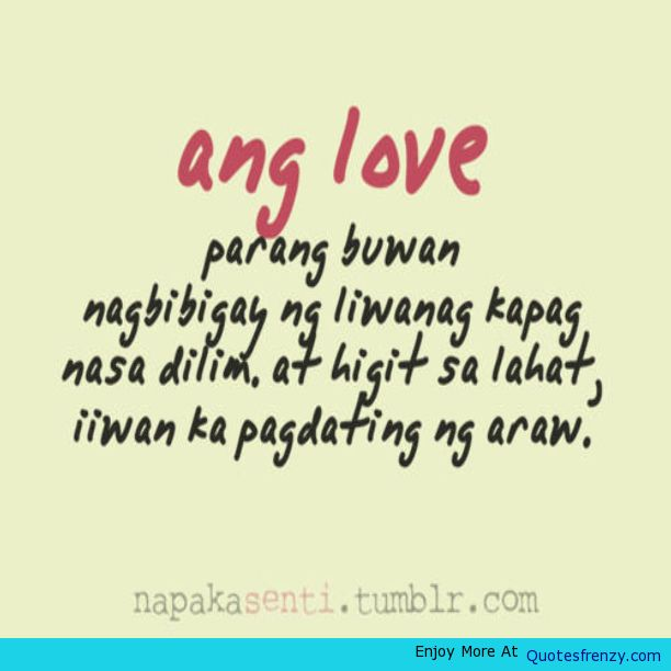 Quotes About Life Filipino 22 Quotes