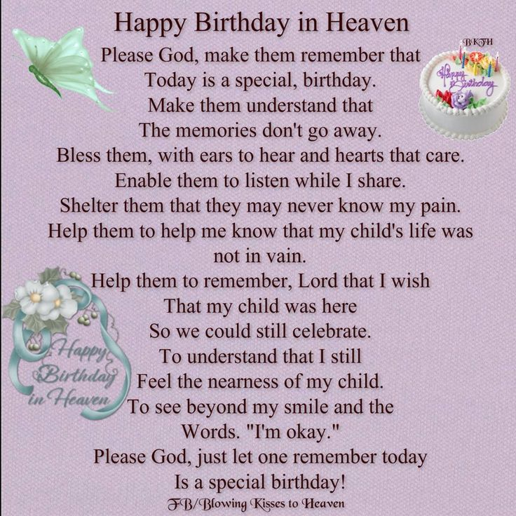 Quotes About Birthday In Heaven 23