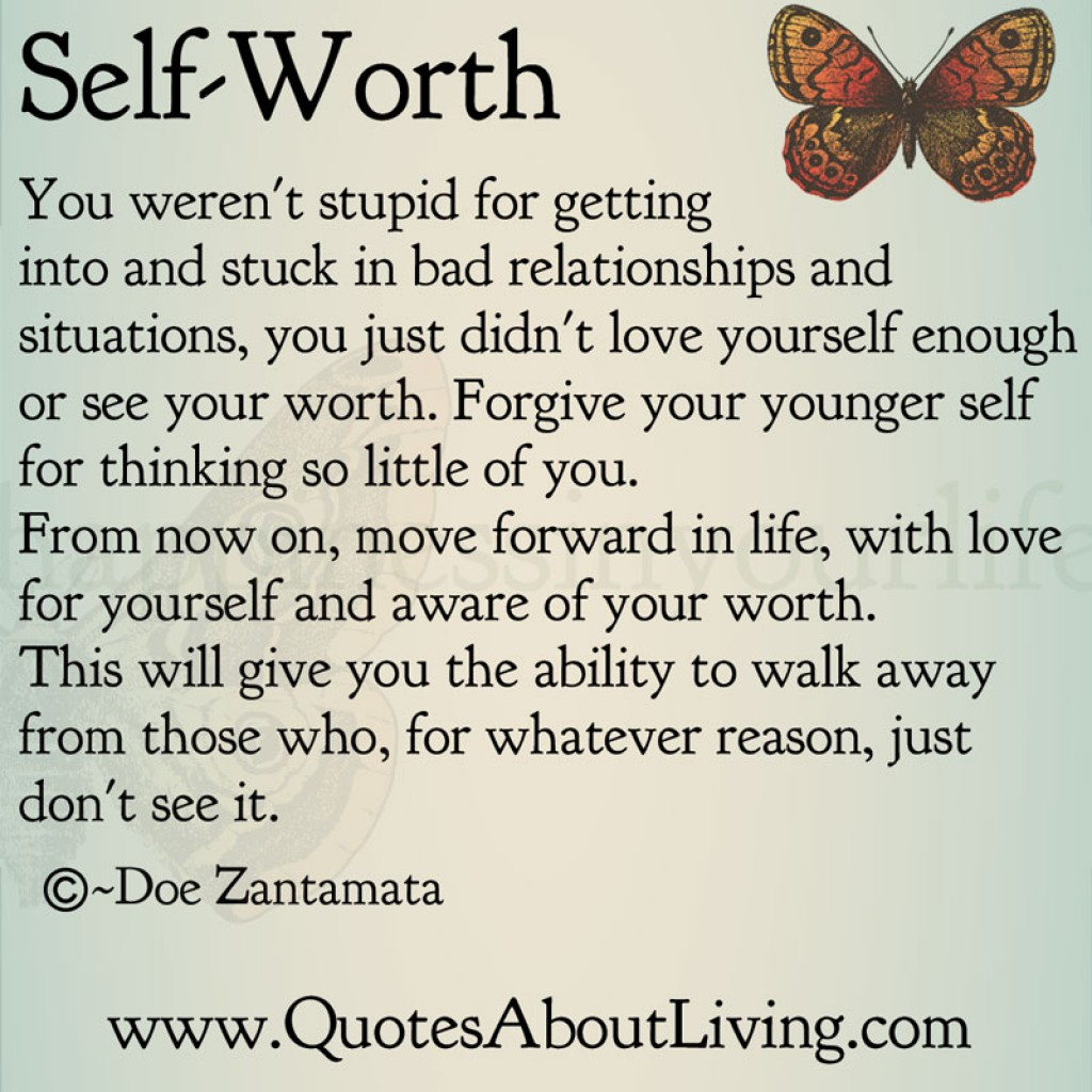 Quotes About Self Worthiness 37 Quotes