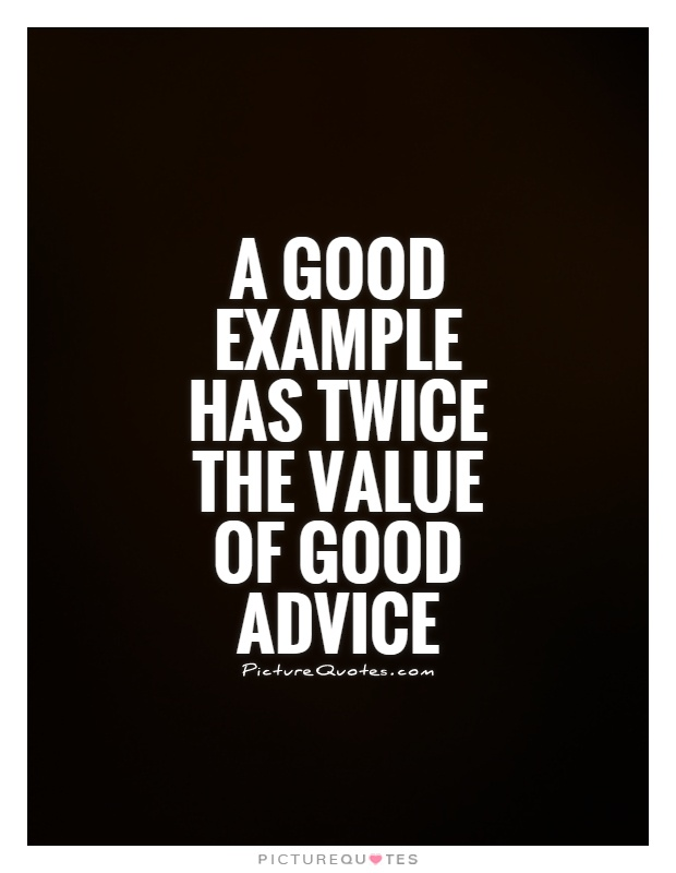 quotes about good example 239 quotes