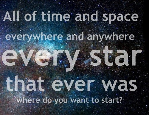 quotes about space and time quotes