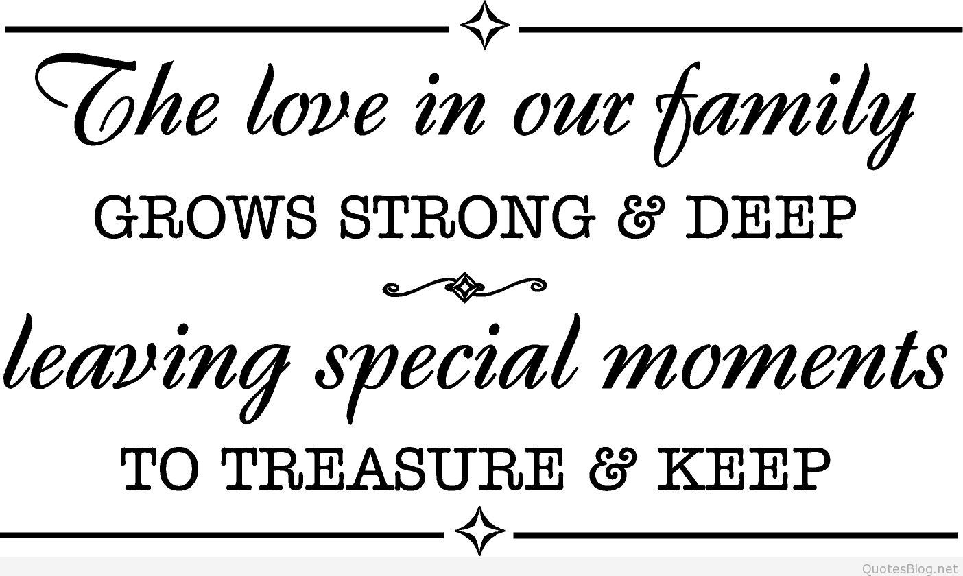 Quotes about Strong family relationship (26 quotes)