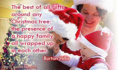 Christmas tree gift quote