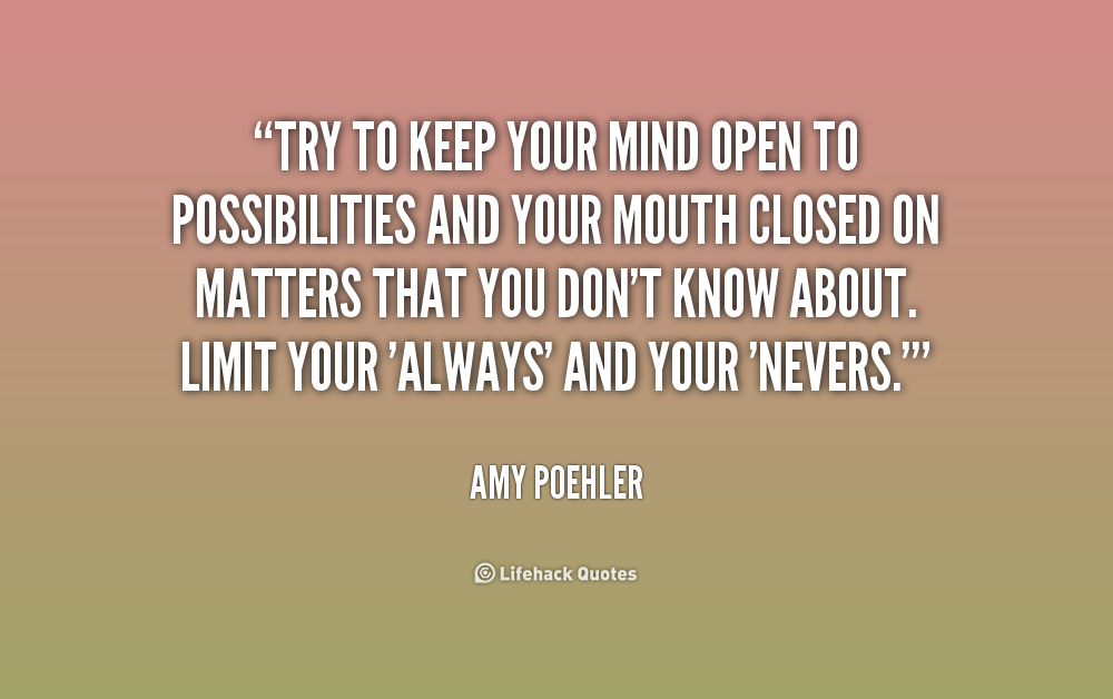 Open Minded Quotes Best Quotes About Open Minded 48 Quotes