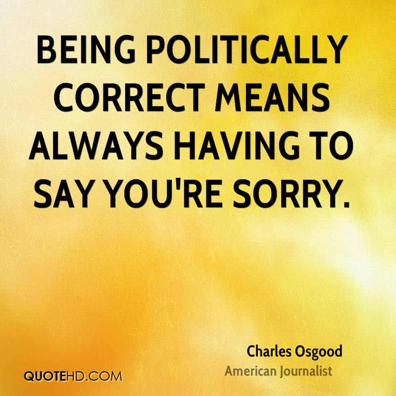 political correctness in the schools of canada