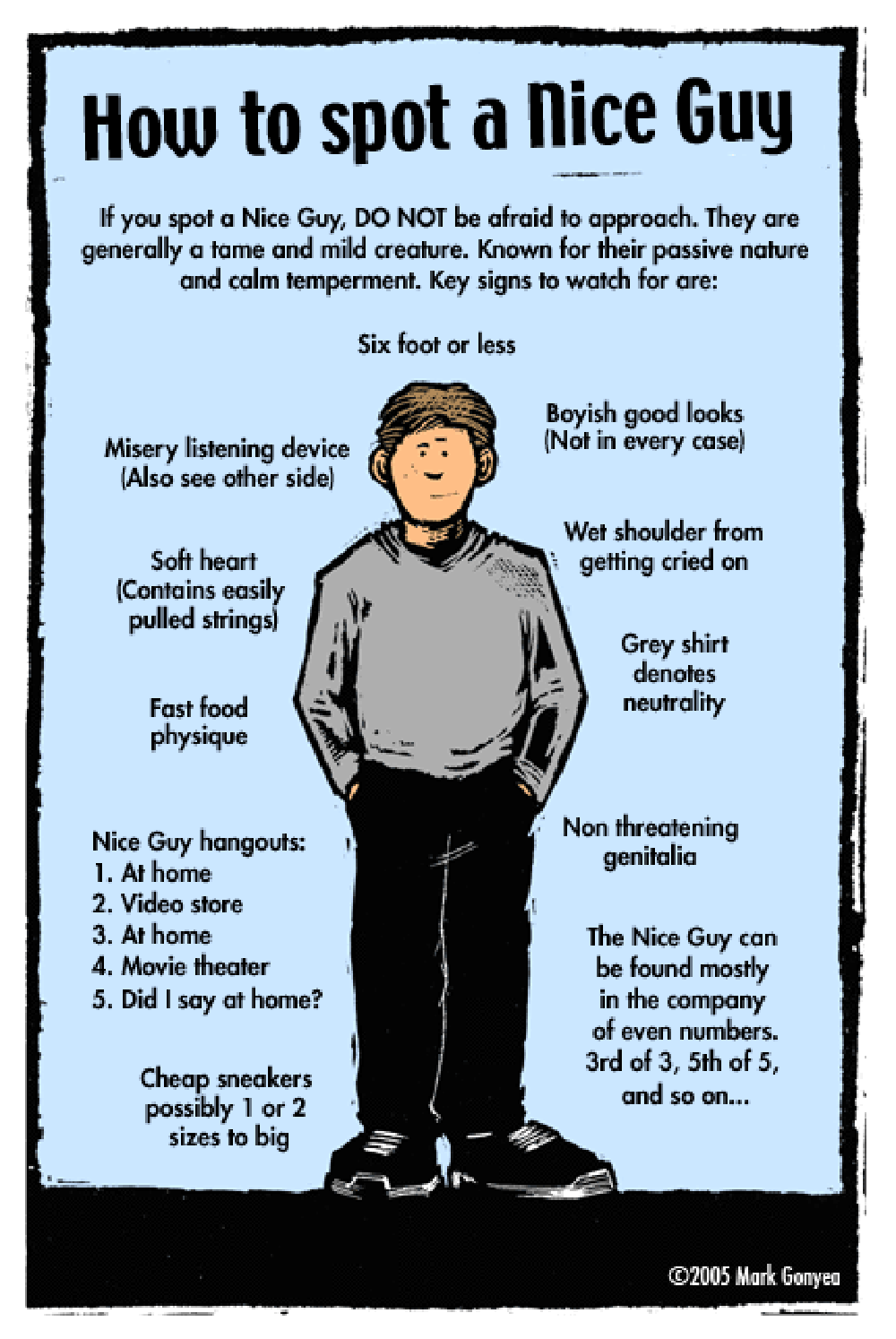 29 Reasons Not To Be A Nice Guy