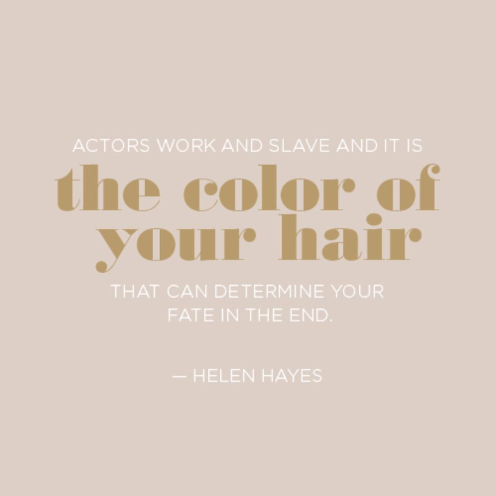 Quotes About Hair Color Quotes - Bald hairstyle quotes
