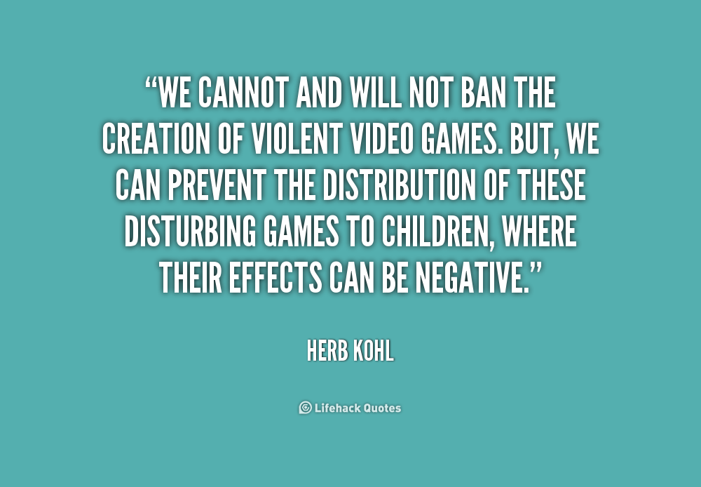 should the government regulate violent video games Ultraviolent video games are harmful to children, and children should not be able to purchase them without a parent involved in the sales transaction.