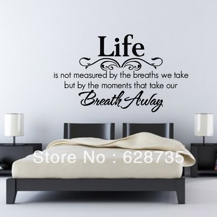 Quotes About Bedroom Wall 30 Quotes