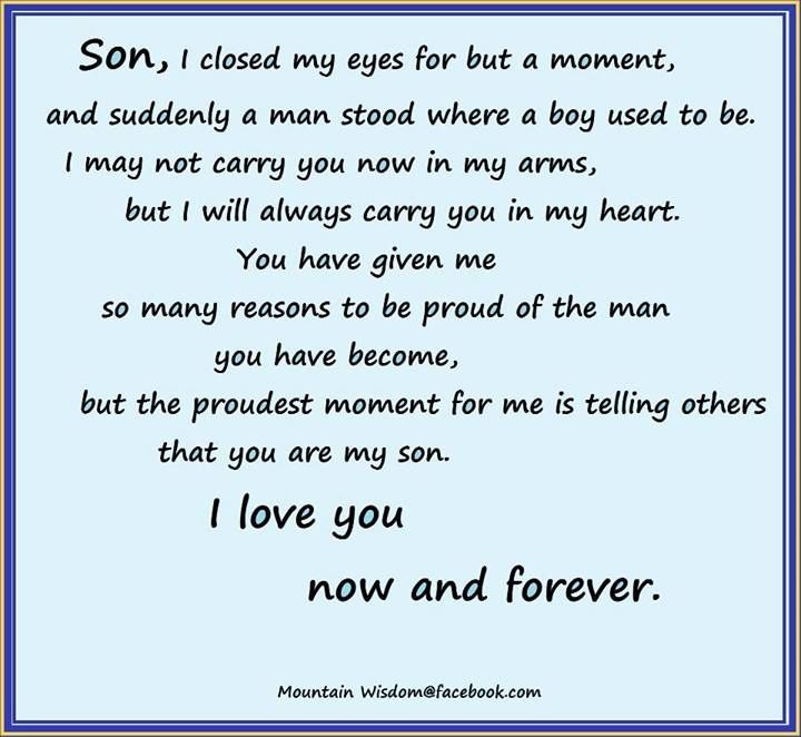 Quotes about My Son (610 quotes)