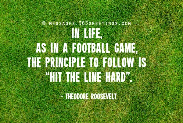 Quotes About Football Soccer 50 Quotes