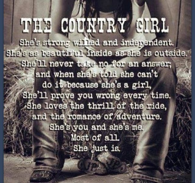 Quotes About Country Girl 75 Quotes