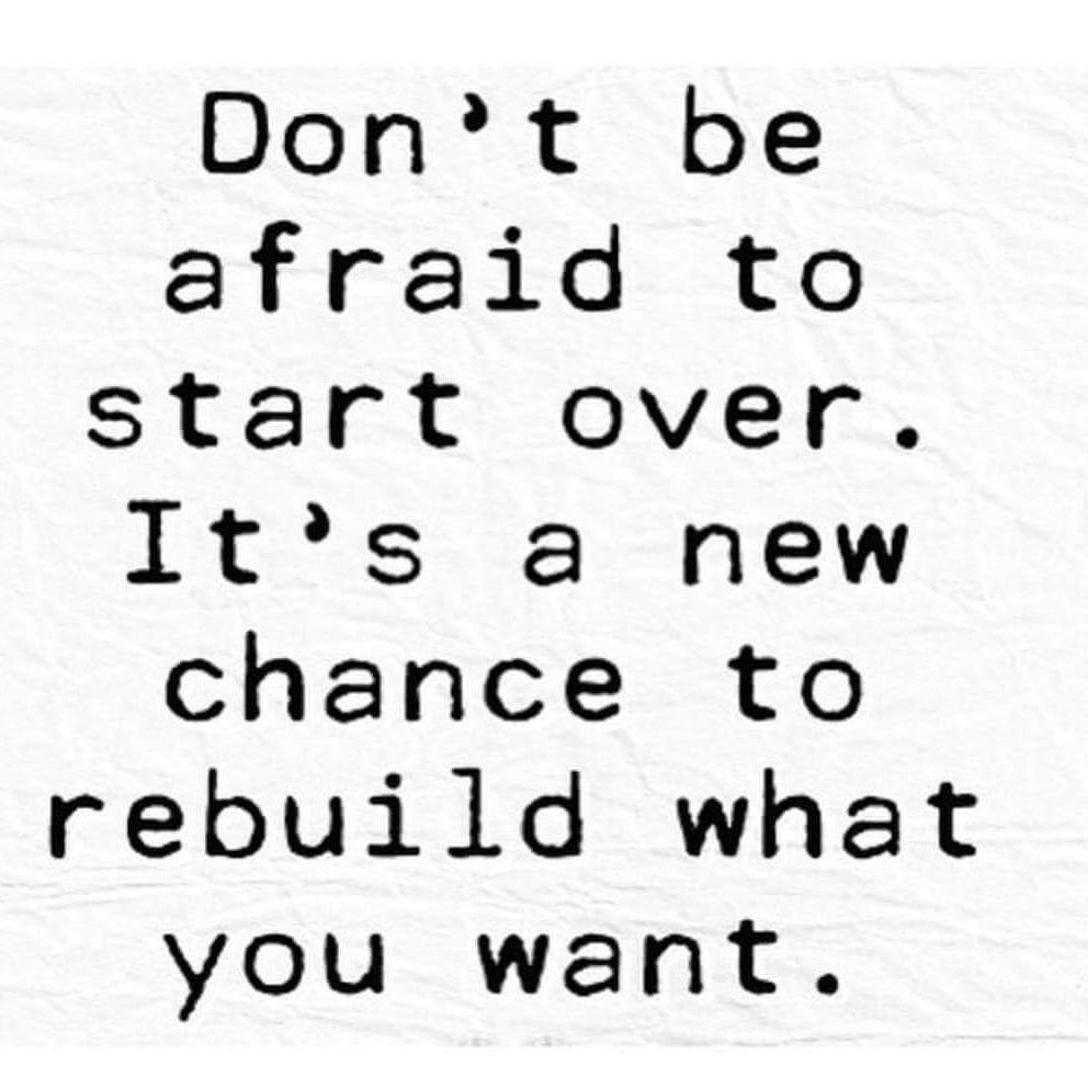 Quotes About Starting Over Fresh 51 Quotes